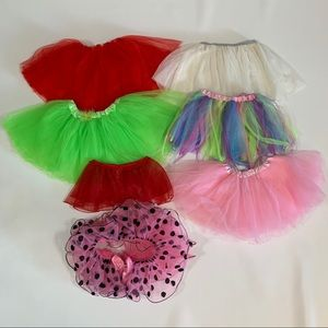 🍀3/$25 Lot of 7 Tutu Skirts